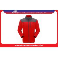Buy cheap Warm Winter Mens Outdoor Jackets Soft Shell Hiking / Hunting / Climbing Coats from wholesalers
