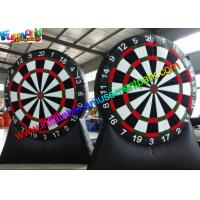 Buy cheap House , Backyard Inflatable Dartboard / Inflatable Archery Dart Board for Sport Game from wholesalers