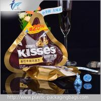 Buy cheap 50g Special Shaped Stand up Chocolate Pouch , Chocolate Packaging Bag from wholesalers