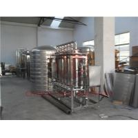 Buy cheap RO Drinking Water Filter System / Raw Water Treatment Plant High Pressure from wholesalers