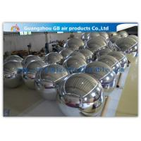 Buy cheap Silver Mirror Balloon inflatable Holiday Decorations For Concerts / Clubs from wholesalers