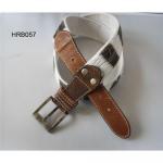 Buy cheap Cotton belt, canvas belt, fashion belt, china woven belt supplier from wholesalers