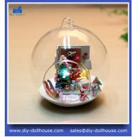 Buy cheap Creative educational toy building diy 3d puzzle mini glass house MG005 from wholesalers