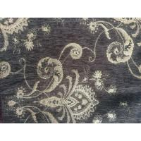 Buy cheap Vintage Chenille fabric Upholstery , Flower Design chair upholstery fabric product