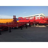 Buy cheap 3 axle 40ft skeleton semi trailers40ft container chassis trailer from wholesalers