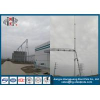Buy cheap Power Plant Electrical Substation Steel Structure Hot Dip Galvanization from wholesalers