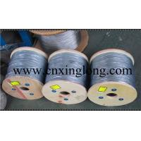 Buy cheap sell xinglong electric galvanized wire rope 7*7 6*7+IWS from wholesalers