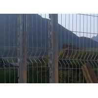 Buy cheap Low-Carbon Iron Roll Top Fence / Pvc Dipping Roll Top Weld Fencing/ Roll Top Welded Mesh Fence Panel from wholesalers