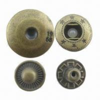 Buy cheap Spring Snap Buttons with Anti-brass Plating product