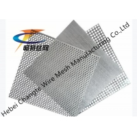 Buy cheap 0.8mm 2.0mm Galvanized Stainless Steel Perforated Sheet from wholesalers
