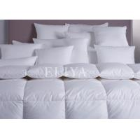 Buy cheap Thick Warm Winter Hotel Collection Duvet / White Nature Goose Down Comforter with Corner Tab from wholesalers