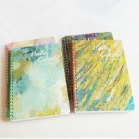 Buy cheap Art paper cover wire-o blank paper notebook_China printing factory from wholesalers