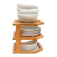 Buy cheap beautiful totally small modern kitchen sink wooden bamboo dish rack from wholesalers