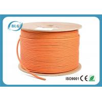 Buy cheap 600 MHz Cat 7 Cable 1000 FT , Cat 7 Shielded Ethernet Cable HDPE Insulation from wholesalers