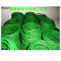 China Green color joint PU round belt and mould endless PU round belt is applied glass industry on sale