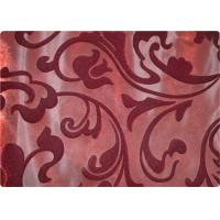 Buy cheap Funky 100% Polyester Velvet Fabric Contemporary Upholstery Fabric from wholesalers