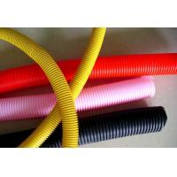 Buy cheap Non Cracking Flexible Corrugated Tubing / Multi Colors 4 Inch Corrugated Pipe from wholesalers