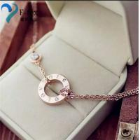 Buy cheap Replicas Cartier Love Design 14K Gold Plated pendants from wholesalers