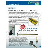 Buy cheap flat box taping finishing tools from wholesalers