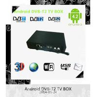 Buy cheap internet Black android4.2 DVB-T2 tv box  wifi  South America from wholesalers