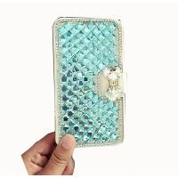 Buy cheap ARD005-BB DIY handmade sparkling 3D crystal rhinestones diamond wallet leather phone case for Iphone 7/7 plus from wholesalers