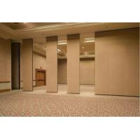 Buy cheap Banquet Hall 85 mm Type Sound Proofing Movable Partition Walls with No Floor Tracks from wholesalers