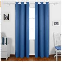 Buy cheap Dark Blue Custom Window Curtains With Multiple Sizes And Pattern Layouts from wholesalers