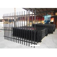 Buy cheap High Quality Wrought Iron Automatic Gate Wrought Iron stee Fence from wholesalers