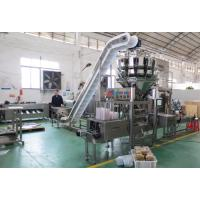 Buy cheap Strawberry weighing and plastic box packing machine with label machine from wholesalers