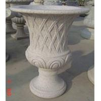 Buy cheap Curved garden decoration stone flower pots  from wholesalers