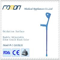 Buy cheap Aluminium Adjustable Elbow Walking Crutch Blue Color from wholesalers