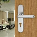 Buy cheap Zamac Entrance Door Handle (U531-170NB) from wholesalers