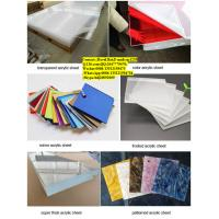 Buy cheap transparent cast plastic plexiglass pmma acrylic sheet from wholesalers