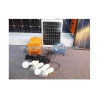 Buy cheap 15W Small LED Solar Lighting Kit(Solar Panel& Lights & Mobile phone Charger & Rechargeable Batteries ) from wholesalers