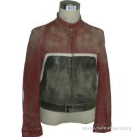 Buy cheap Men's Leather Garment Leather Jacket, Washable Leather Jacket (013) from wholesalers