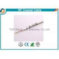 Buy cheap Small 50ohm RG174 Coaxial Cable For Antenna / Communication Telecom from wholesalers
