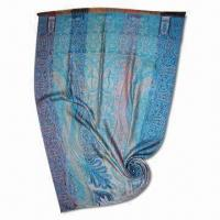 Buy cheap Paisley Pattern Wool Pashmina Scarf, Available in Various Colors from wholesalers