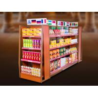 Buy cheap Economical Convenience Store Display Fixtures / Grocery Store Display Racks from wholesalers