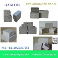 Buy cheap Building supplies Uk Foam&Cement composite Sandwich Wall Panel interior decoration from wholesalers