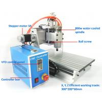 Buy cheap Precision Mini 800w 3 Axis Desktop 3020 CNC Router Machine Water Cooling from wholesalers