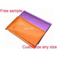 Buy cheap Colored Poly Teal Matte Metallic Bubble Mailers Self Adhesive Tape Shock Resistant from wholesalers