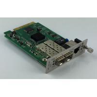Remote Management 10G Media Converter  With 1 + 1 Fiber Optical Protection