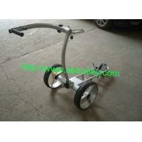 Buy cheap Tubular motor golf trolley brushless motors golf cart lithium battery golf kaddy from wholesalers