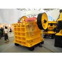 Buy cheap Hydraulic double toggle jaw crusher for stone / mining crushing from wholesalers