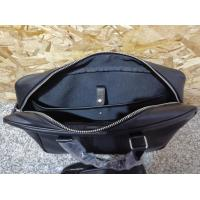 Buy cheap Commute solid bag-Black PU leather with texture surface,notebook PC bag from wholesalers