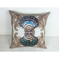 Buy cheap cotton filled pillow embroidered pillow 18 inch pillow covers pillow cover  hotel linen pillow cover from wholesalers