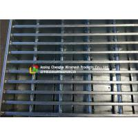 Buy cheap LTA / HDB Vehicular Heavy Duty Steel Grating For 70 X 6 Bearing Bar Size from wholesalers