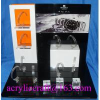 Buy cheap Popular Custom Luxury Acrylic Display Stand For Watch with C Clip from wholesalers