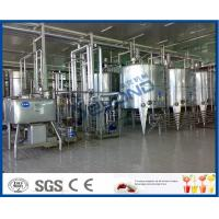 Buy cheap Heat Treated Pasteurized Milk Dairy Processing Plant With Milk Pasteurization Machine from wholesalers