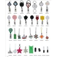 Buy cheap Lanyard Accessory ABS Retractable Badge Holder , Mobile Phone Strap from wholesalers